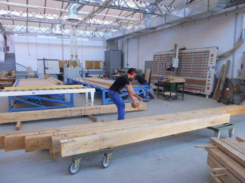 Chantier Ecole pour nos Bac Pro TCB (techniciens constructeurs bois) et CAP Charpentier Lycée  # Bac Pro Constructeur Bois